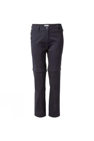 Craghoppers Womens Kiwi Pro II Convertible Trousers Dark Navy
