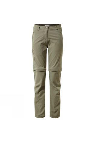 Craghoppers Womens NosiLife Pro II Convertible Trouser Soft Moss