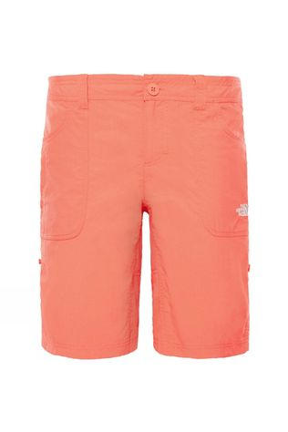 The North Face Womens Horizon Sunnyside Shorts Juicy Red