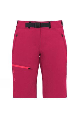 Vaude Womens Badile Shorts Crimson Red
