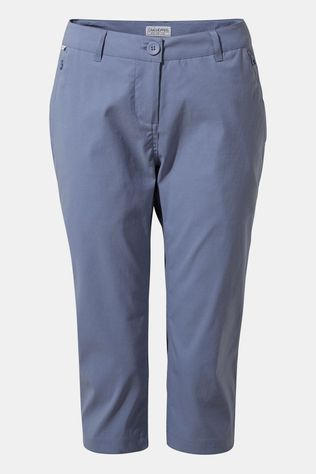 Craghoppers Womens Kiwi Pro II Crop Trousers Paradise Blue