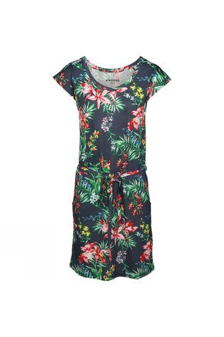 Ayacucho Womens Malibu Dress Navy Orchid