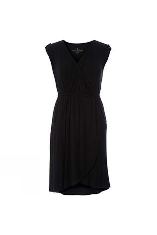 Royal Robbins Womens Noe Cross-Over Dress Jet Black