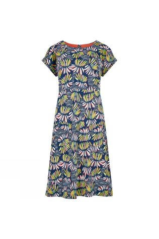 Weird Fish Womens Tallahassee Dress Navy