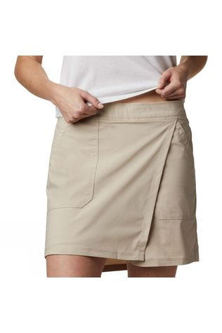 Columbia Womens Longer Days Skort Fossil