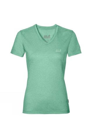 Jack Wolfskin Womens Crosstrail Tee Pacific Green