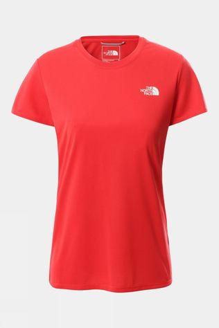 The North Face Women's Reaxion Amp Crew Shirt Horizon Red