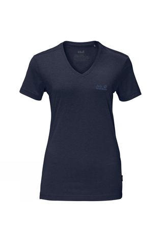 Jack Wolfskin Womens Crosstrail Tee Midnight Blue