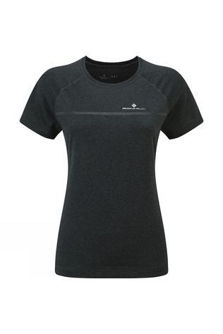 Ronhill Womens Everyday Short Sleeve Tee Charcoal Marl