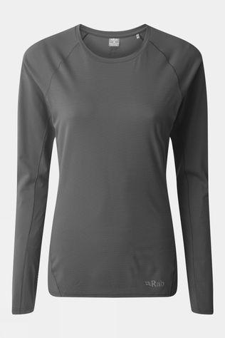 Rab Womens Force LS Tee Steel