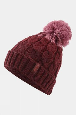 Rab Womens Braid Beanie Oxblood Red