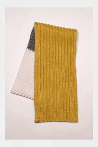 Brakeburn Womens Colour Block Knit Scarf Multi