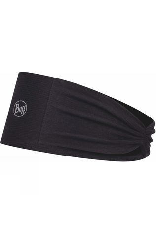 Buff Women's CoolNet UV+ Tapered Headband R-Solid Black
