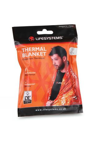 Lifesystems Thermal Blanket Orange