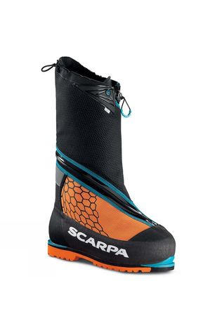 Scarpa Phantom 8000 High Altitude Boot Black/Orange