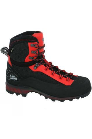 Hanwag Men's Ferrata II GTX Boot Black/Red