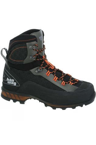Hanwag Men's Ferrata II GTX Boot Black/Orange
