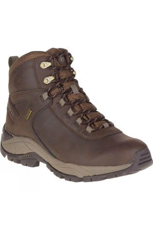 Merrell Mens Vego Mid Leather Waterproof Boot Espresso