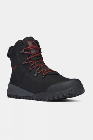 Columbia Mens Fairbanks Omni-Heat Boot Black / Rusty