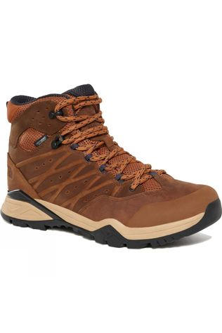 The North Face Mens Hedgehog Hike II Mid WP Boot Timber Tan/India Ink