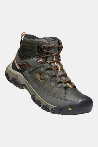 Keen Mens Targhee III Mid Waterproof Boot Black Olive/Golden Brown