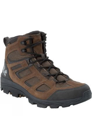 Jack Wolfskin Mens Vojo Hike 3 Mid Brown/Phantom