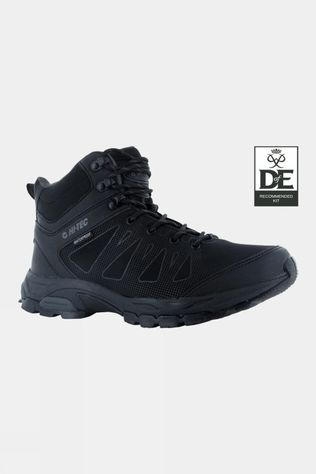 Hi-Tec Men's Raven Mid WP Boot Black/Charcoal