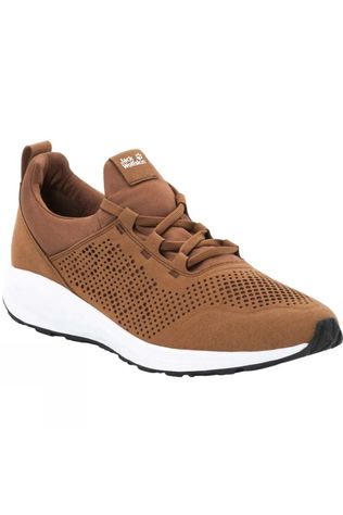 Jack Wolfskin Mens Coogee Low Desert Brown