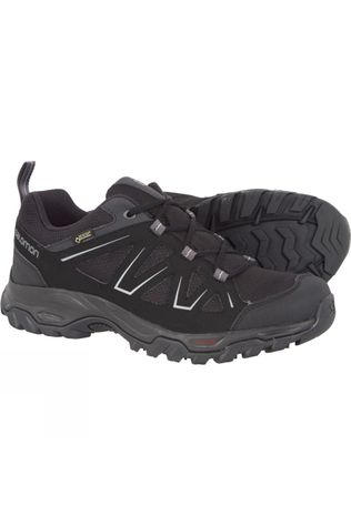 Salomon Mens Tibai GTX Low Shoe Black/Black/Monument