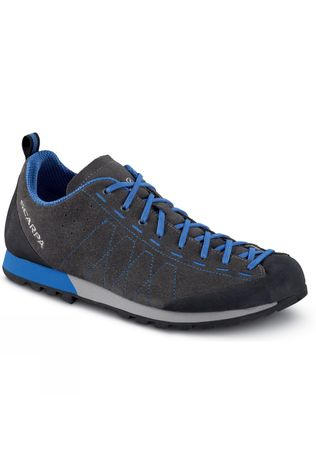Scarpa Mens Highball Shoe Shark-Turkish Blue