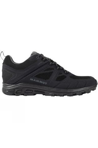 Mammut Mens Osura Low GTX Shoe Black-Titanium