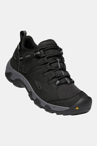 Keen Mens Steen Waterproof Shoe Black/Magnet