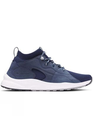 Columbia Mens SH/FT Outdry Mid Shoe Collegiate Navy, White