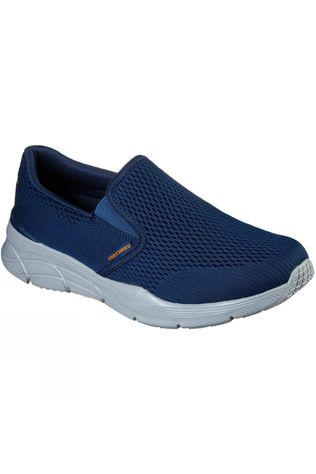 Skechers Mens Equalizer 4.0 Triple-Play Shoe Navy/Orange