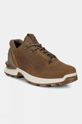 Ecco Mens Exohike Leather Shoe Cayote Nyala