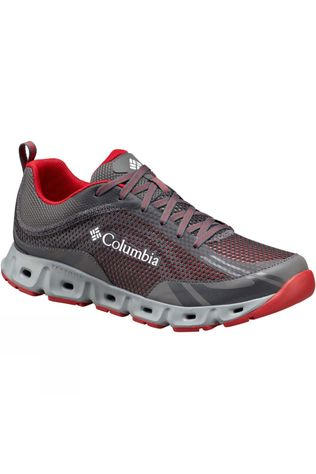 Columbia Mens Drainmaker IV Shoe City Grey/Mountain Red