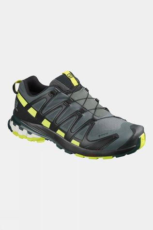 Salomon Men's XA Pro 3D V8 GTX Shoe Urban Chic/Black/Lime Punch