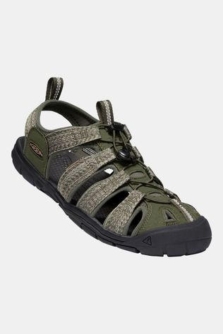 Keen Mens Clearwater CNX Sandal Forest Night/Black