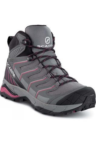Scarpa Womens Maverick Mid GTX Boot Gray/Red Plum