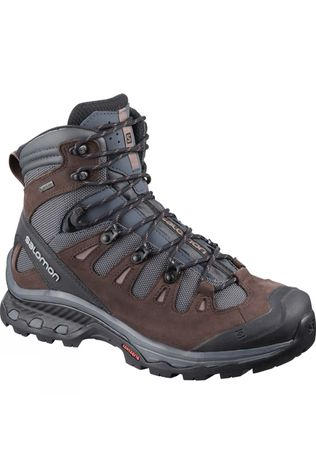 Salomon Womens Quest 4D 3 GTX Boot Ebony/Chocolate Plum/Peppercorn