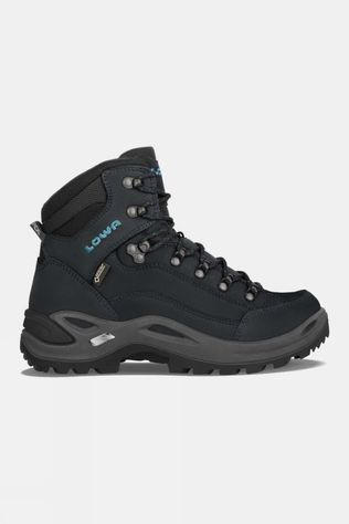 Lowa Womens Renegade GTX Mid Narrow Boot Asphalt/Turquoise