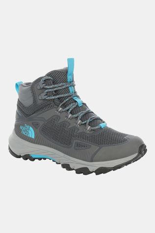The North Face Womens Ultra Fastpack IV Mid Futurelight Boot Zinc Grey/Caribbean Sea
