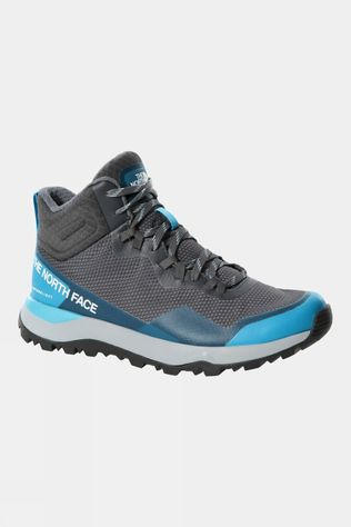 The North Face Womens Activist Mid Futurelight Boot Zinc Grey/Maui Blue