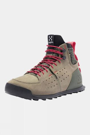 Haglofs Womens Duality AT1 GT Boot Lichen/Hibiscus Red