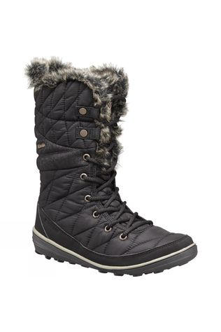 Columbia Womens Heavenly Omni-Heat Boot Black / Kettle