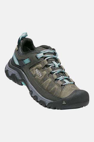 Keen Womens Targhee III Water Proof Shoe Alcatraz/Blue Turquoise
