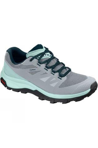 Salomon Womens Outline GTX Shoe Pearl Blue/Icy Morn/Reflecting Pond