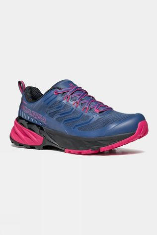 Scarpa Womens Rush GTX Shoe Blue/Fuxia