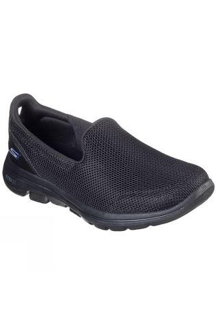 Skechers Womens GoWalk 5 Slip On Shoe Black/Black