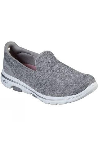 Skechers Womens GoWalk 5 Honor Slip On Shoe Grey